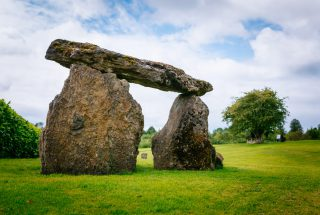Dún na Sí - Heritage and Amenity Park -Dolmen 15