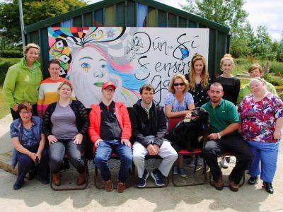 Dún na Sí - Heritage and Amenity Park - Sensory Garden Painting