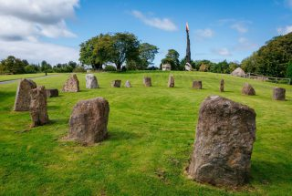Dún na Sí - Stone Circle 2