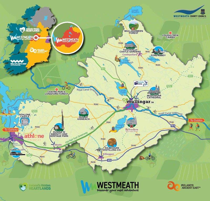 Dún na Sí - Local Area Map 1
