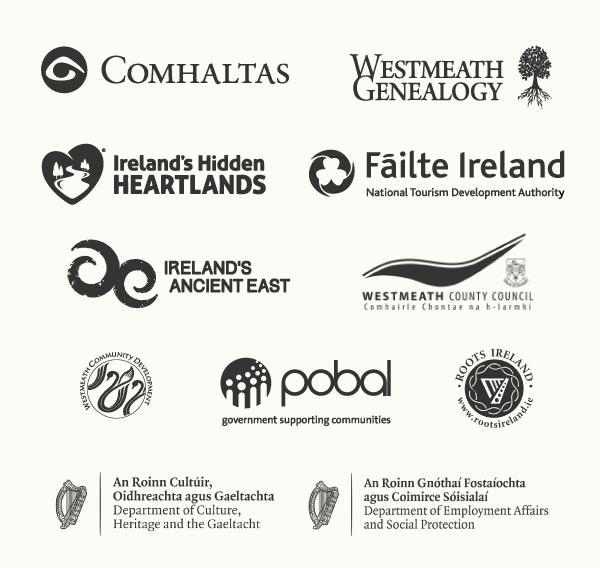 Dún na Sí - Supporters Logos